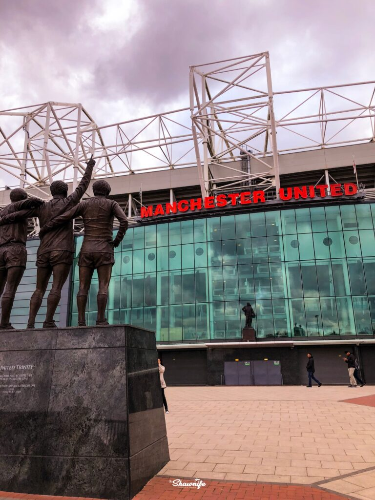 Old Trafford Manchester UK | Shawnife Lifestyle and Travels