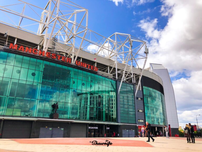 Old Trafford Manchester | Shawnife Lifestyle and Travels