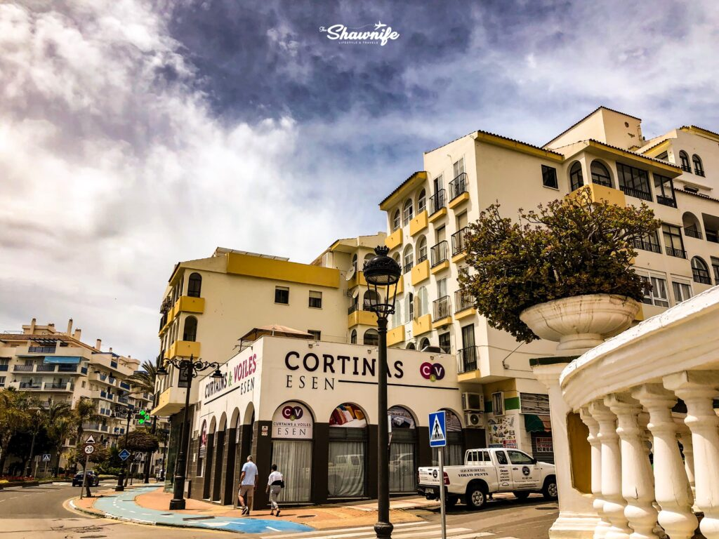 Shawnife Travels Port of Estepona Spain